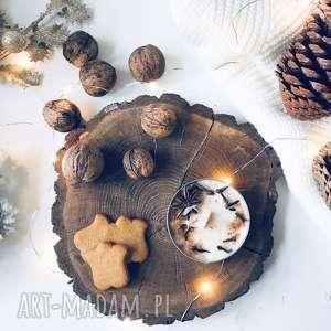 prezenty święta świeca sojowa świąteczna - zapach