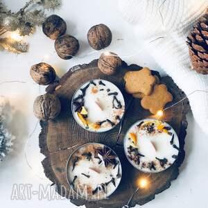 prezenty święta świeca swiateczna sojowa świąteczna - zapach