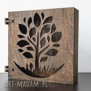 klucze dom szafka na drzewko drewniana