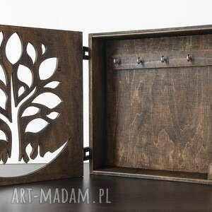 unikatowe dom szafkanaklucze szafka na klucze drzewko drewniana