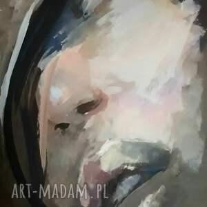 Galeria Alina Louka twarz kobiety - obraz do salonu duży kobieta