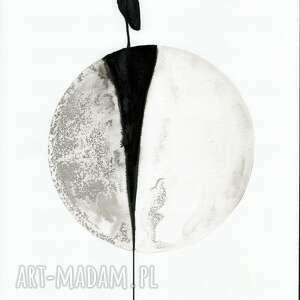 dom minimalizm zestaw 3 grafik 30x40 cm wykonanych