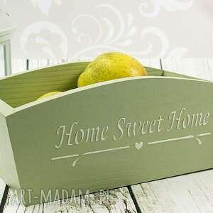 pojemnik drewniany home sweet