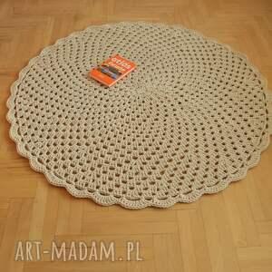 gustowne dywan ażurowe koło