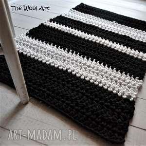 białe dywany dywan czarno - biały dywanik