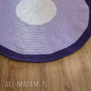 hand made dywany dywan dom ze sznurka w kolorze