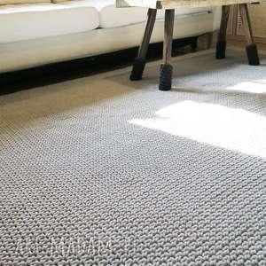 chodnik dywany białe dwustronny dywan z bawełnianego