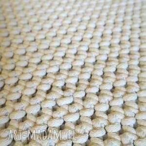 chodnik dwustronny dywan z bawełnianego