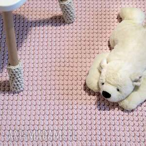 dwustronny dywan z bawełnianego