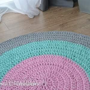 gustowne dywany dywan bawełniany pastel 80cm ze