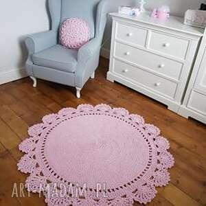dywnik dywan bawełniany z koronką
