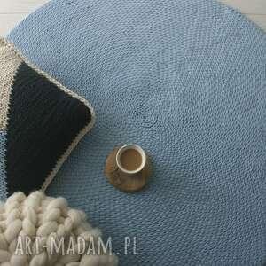 ręcznie wykonane dywany dywan bawełniany średnica 200 cm