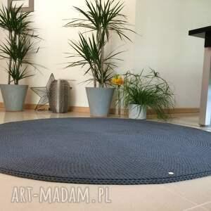 niekonwencjonalne dywan camel - 120 cm - ciemny brąz