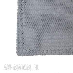 intrygujące dywan ze sznurka dziergany prosty