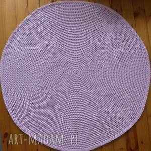 intrygujące sznurek dywan dziergany mela