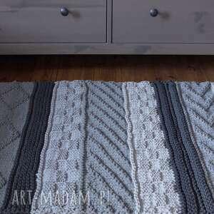 dywan-bawełniany dywany dywan dziergany folk