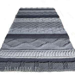 hand made dywany dywan-sznurek dywan dziergany folk