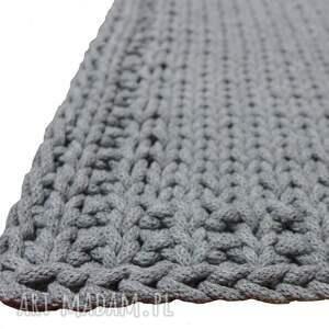 urokliwe dywan sznurek dziergany prosty