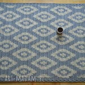 ręczne wykonanie dywany dywan geometryczny