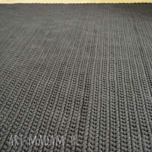 efektowne dywany dywan gorzka czekolada