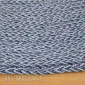 oryginalne dywan okrągły ze sznurka - melanż