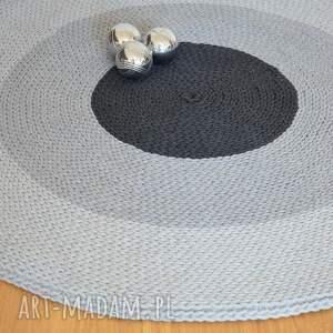 hand-made dywany dywan okrągły ze sznurka