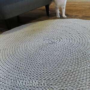dywany ręcznie dywan okrągły ze sznurka 140 cm