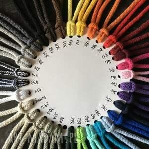 dywan na szydełku okrągły ze sznurka
