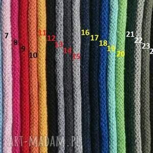 handmade dywany sznurek dywan okrągły ze sznurka round