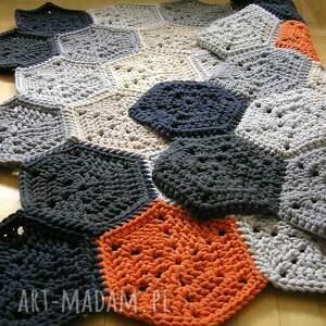 szare dywany podłogowy dywan polygonal dla p. marzeny