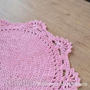 fioletowe dywany chodnik dywan princessa 100cm - ze