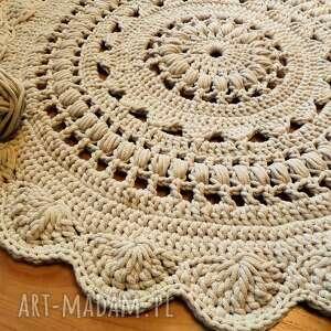 eleganckie dywan ręcznie wykonany 90 cm