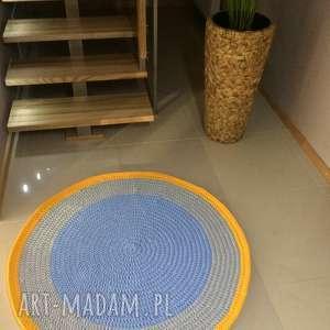 Motkovo niepowtarzalne dywan ślimak multicolor - 120