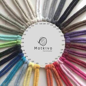 na szydełku dywan ślimak multicolor - 120