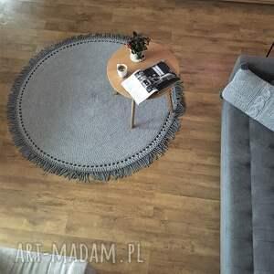 boho dywan sznurkowy 120cm