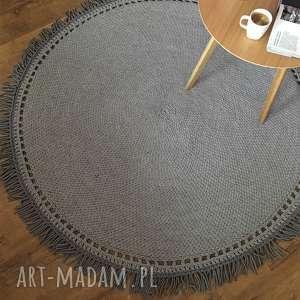 boho dywany dywan sznurkowy 120cm