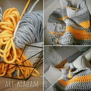 żółte sznurek dywan - trochę słońca
