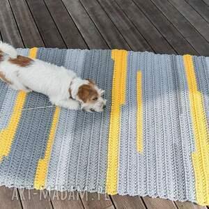 oryginalne sznurek dywan - trochę słońca