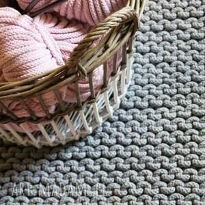 dywany dziergany dywan xl z bawełnianego sznurka 120