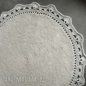 dywan ze sznurka bawełnianego jasny