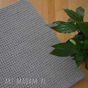 dywan ze sznurka naturalny, miękki zrobiony ręcznie