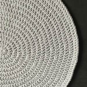 dywany chodnik dywan ze sznurka bawełnianego biały