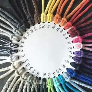 dywan na szydełku ze sznurka bawełnianego