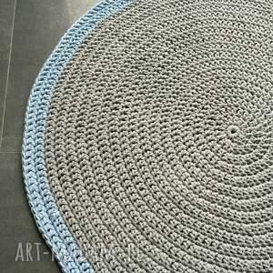 eleganckie dywany dywan ze sznurka bawełnianego szary