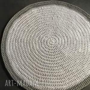 sznurek dywan ze sznurka bawełnianego biały