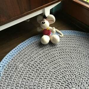 sznurek dywany dywan ze sznurka bawełnianego szary
