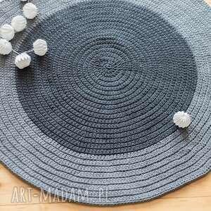 nietuzinkowe dywany dywan 110 cm ze sznurka
