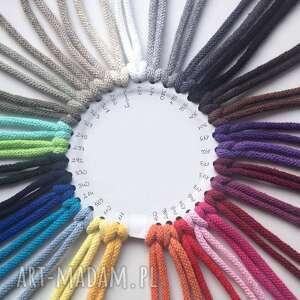 eleganckie dziany dywan ze sznurka okrągły 100