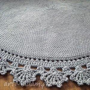 niebanalne dywany dywan dziergany ręcznie bawełniany