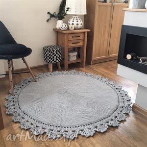 dywany dywanik dziergany ręcznie dywan